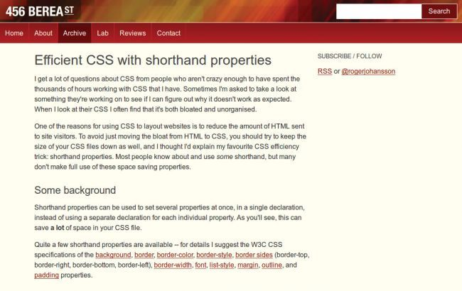 Web 性能优化:21 种优化 CSS 和加快网站速度的方法 - Fundebug - ...